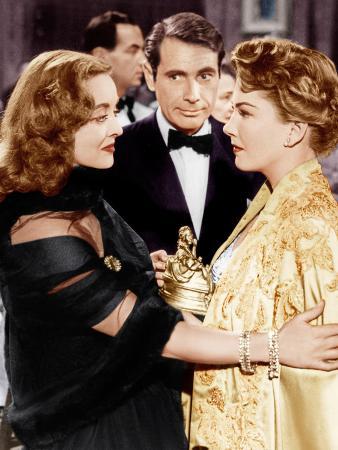 All About Eve, Bette Davis, Gary Merrill, Anne Baxter, 1950