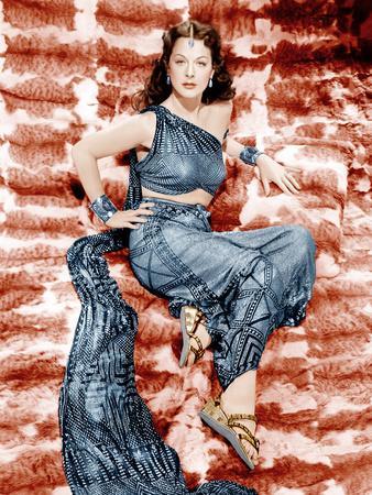 SAMSON AND DELILAH, Hedy Lamarr, 1949