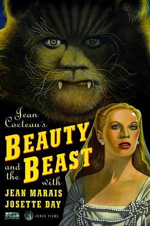 Beauty and the Beast, Jean Marais, Josette Day, 1946