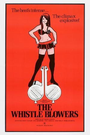 THE WHISTLE BLOWERS, US poster, 1973