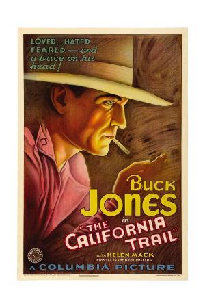 THE CALIFORNIA TRAIL, Buck Jones, 1933