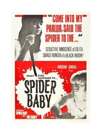 Spider Baby, Jill Banner, Beverly Washburn