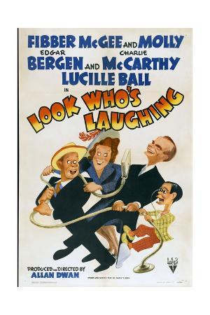 LOOK WHO'S LAUGHING, Jim Jordan, Marian Jordan, Edgar Bergen, Charlie McCarthy, 1941