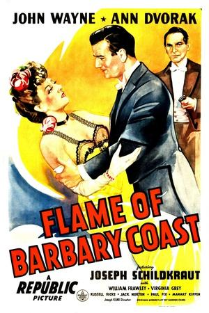Flame of The Barbary Coast, Ann Dvorak, John Wayne, Joseph Schildkraut, 1945