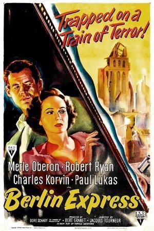 Berlin Express, Robert Ryan, Merle Oberon, 1948