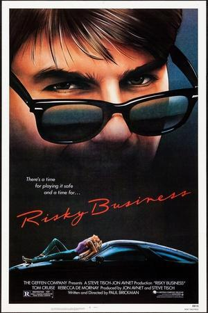 Risky Business, Tom Cruise, Rebecca De Mornay, 1983. © Warner Bros. Courtesy: Everett Collection