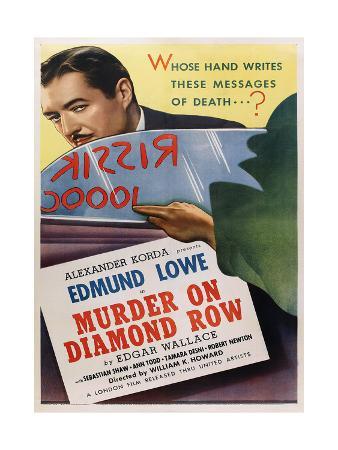 THE SQUEAKER, US poster art, Edmund Lowe, 1937