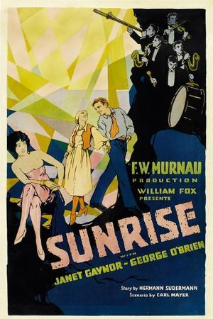 SUNRISE (aka 'SUNRISE: A SONG OF TWO HUMANS'); in foreground