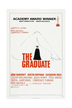 THE GRADUATE, US poster, Dustin Hoffman, 1967