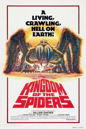 Kingdom of the Spiders, US poster, 1977