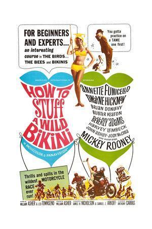 How to Stuff a Wild Bikini, Mary Hughes; Mickey Rooney, 1965