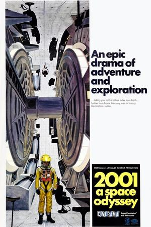 2001: A Space Odyssey, US poster, 1971