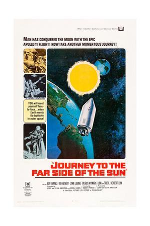 JOURNEY TO THE FAR SIDE OF THE SUN, US poster, 1969