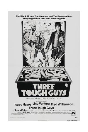 THREE TOUGH GUYS, (aka TOUGH GUYS), from left: Isaac Hayes, Lino Ventura, Fred Williamson, 1974