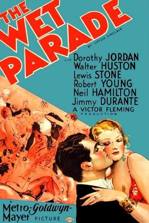 THE WET PARADE, from left on US poster art: Neil Hamilton, Myrna Loy, 1932