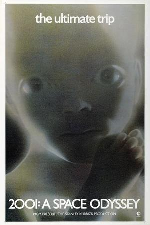 2001: A Space Odyssey, US poster, 1972