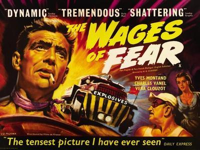 The Wages of Fear, Yves Montand, Charles Vanel, Vera Clouzot, 1955