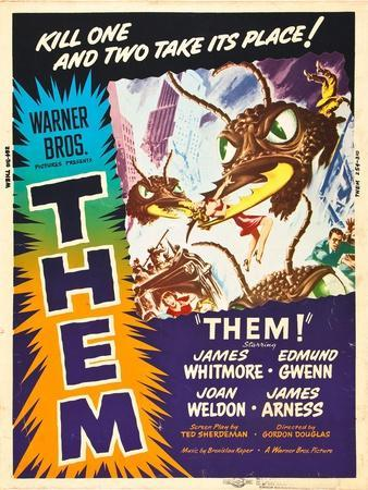 Them!, US poster art, 1954