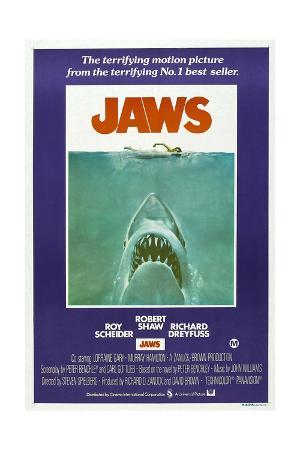 Jaws, Australian poster, 1975