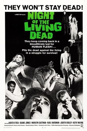 Night of the Living Dead, Duane Jones, Judith O'Dea, Marilyn Eastman, 1968