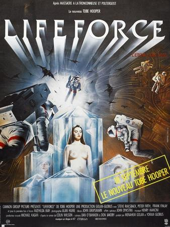 Lifeforce, French poster, 1985. © Cannon Films/courtesy Everett Collection