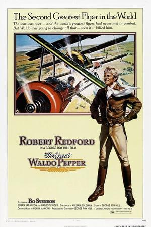 The Great Waldo Pepper, Robert Redford, 1975