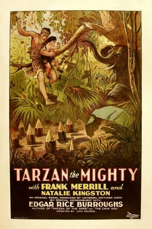 TARZAN THE MIGHTY, Frank Merrill, 1928.