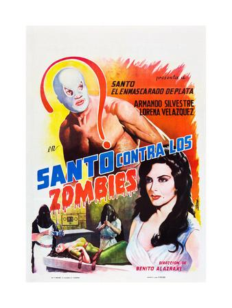 Santo Contra los Zombies (aka Invasion of the Zombies)