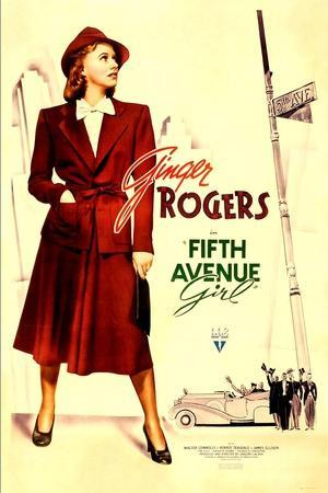 Fifth Avenue Girl, (aka 5th Ave Girl), Ginger Rogers, 1939