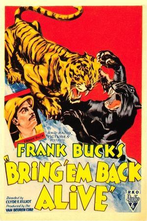 Bring 'em Back Alive, Frank Buck, 1932