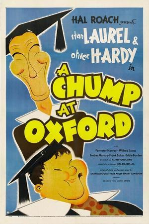 A Chump at Oxford, Stan Laurel, Oliver Hardy, 1940