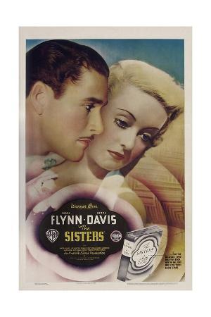 THE SISTERS, from left: Errol Flynn, Bette Davis, 1938.