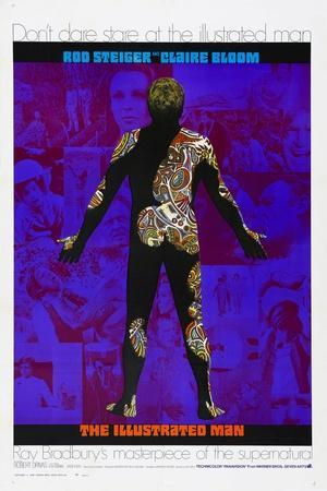 THE ILLUSTRATED MAN, US poster, 1969