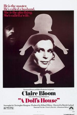 A Doll's House, Anthony Hopkins, Claire Bloom, 1973