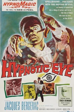 The Hypnotic Eye, Jacques Bergerac, 1960