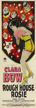 ROUGH HOUSE ROSIE, center: Clara Bow, 1927.
