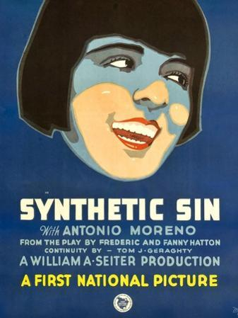 SYNTHETIC SIN, Colleen Moore, 1929.