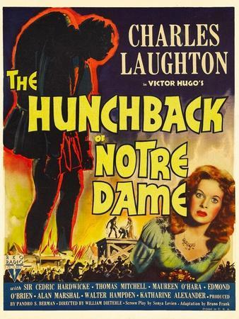The Hunchback of Notre Dame, Maureen O'Hara, 1939