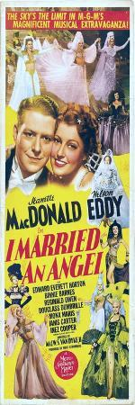 I Married an Angel, Jeanette MacDonald, Nelson Eddy, 1942