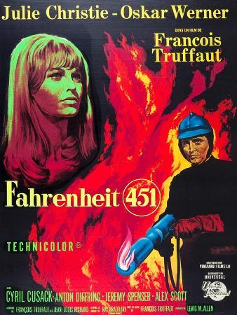 Fahrenheit 451, Julie Christie, Oskar Werner, 1966
