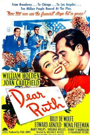 Dear Ruth, US poster, Joan Caulfield, William Holden, 1947