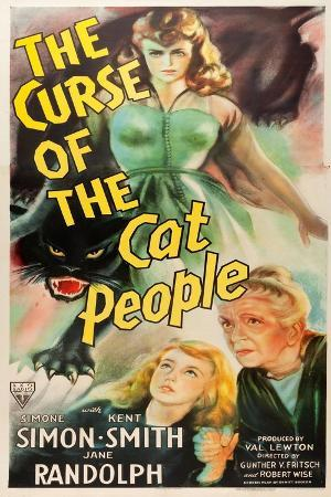 The Curse of the Cat People, Simone Simon, Ann Carter, Julia Dean, 1944