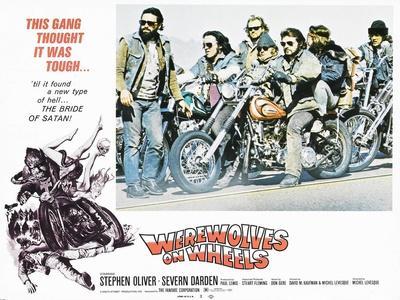 Werewolves on Wheels, Stephen Oliver, 1971