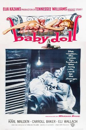 Baby Doll, Eli Wallach, Carroll Baker, 1956