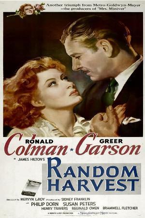 Random Harvest, Greer Garson, Ronald Colman, 1942
