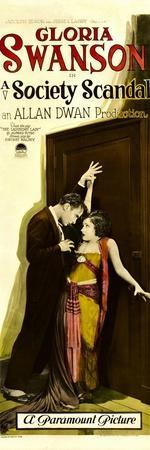 A SOCIETY SCANDAL, from left: Rod La Rocque, Gloria Swanson, 1924.