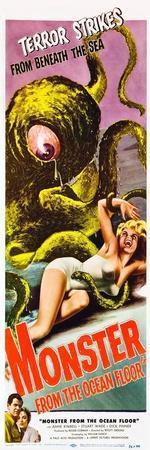 Monster From the Ocean Floor, Stuart Wade, Anne Kimbell, 1954
