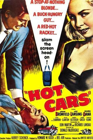 HOT CARS, poster, 1956