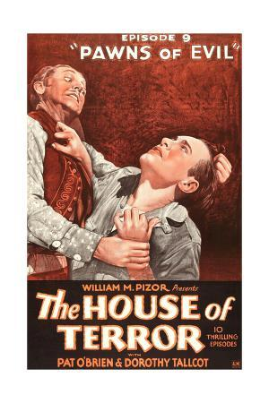THE HOUSE OF TERROR, right: Pat O'Brien in 'Episode 9-Pawns of Evil', 1928