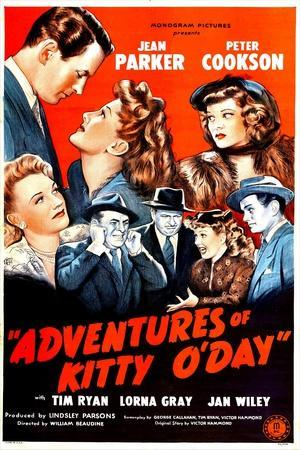 Adventures of Kitty O'Day, Peter Cookson, Jean Parker, Lorna Gray, 1945